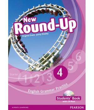 Підручник New Round-Up Grammar Practice Level 4 Student Book + CD-ROM