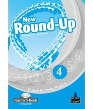 Книга для вчителя New Round-Up Grammar Practice Level 4 Teacher's Book + Audio CD