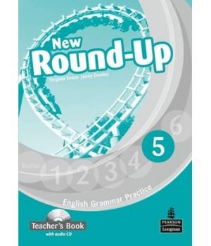 Книга для вчителя New Round-Up Grammar Practice Level 5 Teacher's Book + Audio CD