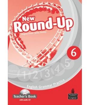 Книга для вчителя New Round-Up Grammar Practice Level 6 Teacher's Book + Audio CD