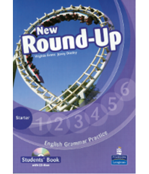 Підручник New Round-Up Grammar Practice Starter Level Student Book + CD-ROM
