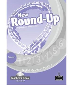 Книга для вчителя New Round-Up Grammar Practice Starter Level Teacher's Book + Audio CD