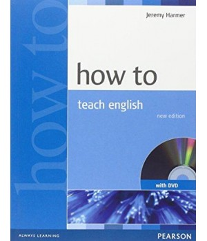 Книга для вчителя How to Teach English Book and DVD Pack