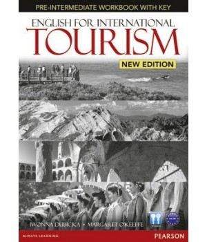 Рабочая тетрадь English for International Tourism Pre-Intermediate New Edition Workbook with Key and Audio CD Pack