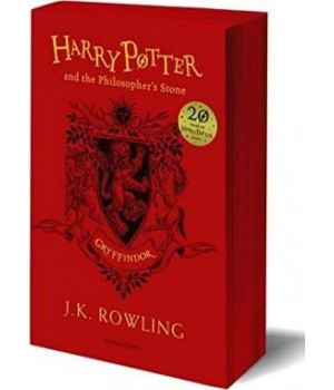 Harry Potter 1 Philosopher's Stone - Gryffindor Edition Paperback