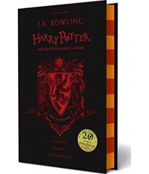Книга для чтения Harry Potter 1 Philosopher's Stone - Gryffindor Edition Hardcover