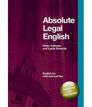 Absolute Legal English Book with Audio CD