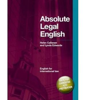 Книга для читання Absolute Legal English Book with Audio CD