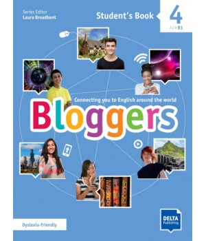Підручник Bloggers 4 Student's Book