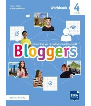 Робочий зошит Bloggers 4 Workbook