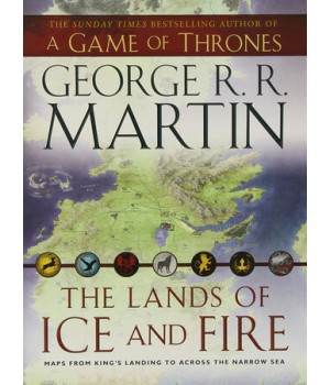 Книга для читання A Game of Thrones The Lands of Ice and Fire Hardcover