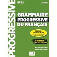 Граматика Grammaire Progressive du français Avancé (3e édition) Livre + CD audio