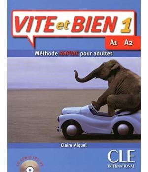 Підручник Vite et Bien 1 livre + CD audio + corrigés