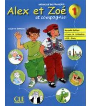 Alex et Zoe Nouvelle 1 Livre de l'élève + Livret de civilisation + CD-ROM