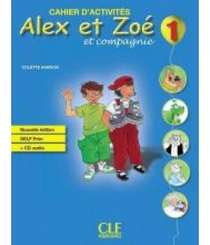 Робочий зошит Alex et Zoe Nouvelle 1 Cahier d'activités + CD audio DELF Prim