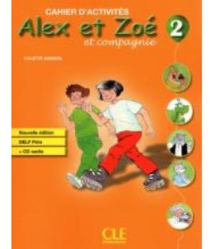 Робочий зошит Alex et Zoe Nouvelle 2 Cahier d'activités + CD audio DELF Prim