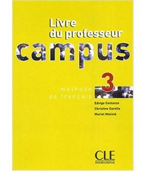 Книга для вчителя Campus 3 Guide pédagogique
