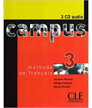 Диски Campus 3 CD audio collectifs