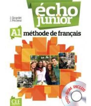 Учебник Écho Junior A1 Livre de l'élève + portfolio + DVD Rom