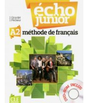 Учебник Écho Junior A2 Livre de l'élève + portfolio + DVD Rom