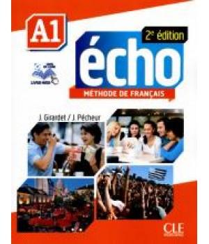 Підручник Echo A1 - 2e édition Livre + DVD-Rom + livre-web
