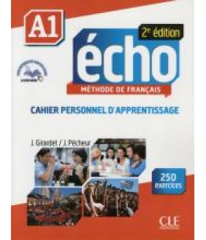 Робочий зошит Echo A1 - 2e édition Cahier d'exercices + CD audio + livre-web
