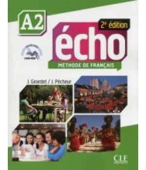 Підручник Echo A2 - 2e édition Livre + DVD-Rom + livre-web