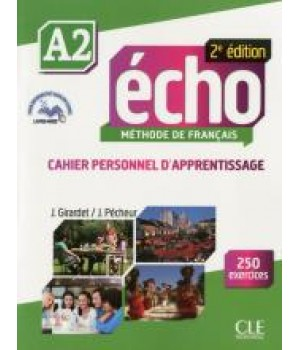 Робочий зошит Echo A2 - 2e édition Cahier d'exercices + CD audio + livre-web