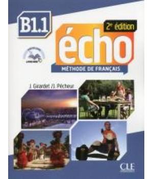 Підручник Echo B1.1 - 2e édition Livre + DVD-Rom + livre-web