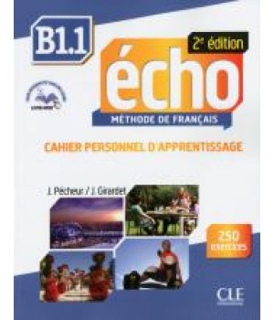 Робочий зошит Echo B1.1 - 2e édition Cahier d'exercices + CD audio + livre-web
