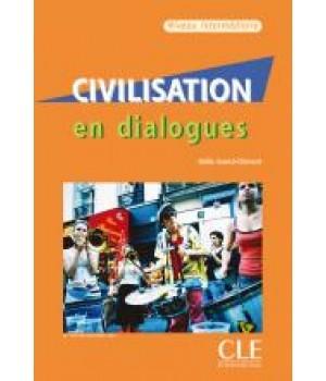 Учебник Civilisation en dialogues niveau intermédiaire Livre + CD