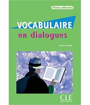 Підручник Vocabulaire en dialogues niveau débutant Livre + CD