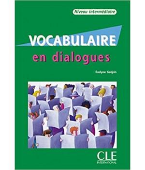 Vocabulaire en dialogues niveau intermédiaire Livre + CD