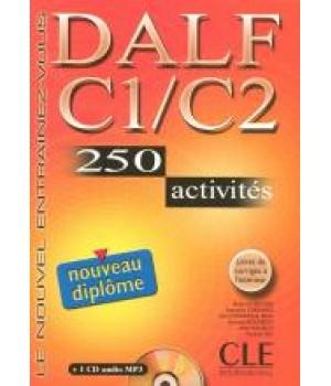 DALF C1-C2 Livre + CD