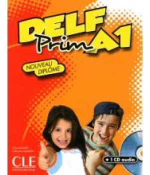 Підручник DELF Prim - Niveau A1 Livre + CD