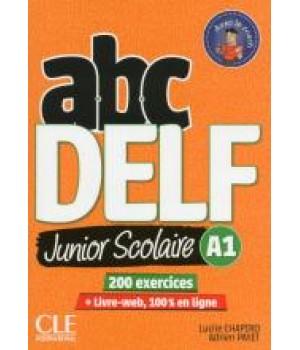 Тести ABC DELF Junior scolaire 2ème édition A1 Livre + DVD + Livre-web