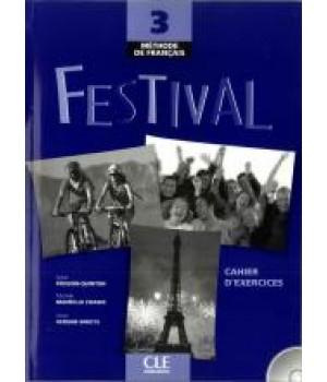Рабочая тетрадь Festival 3 Cahier d'exercices