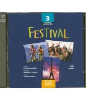 Диск Festival 3 CD audio collectifs