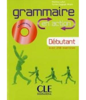 Граматика Grammaire En Action Débutant (A1) Livre + CD audio + corriges