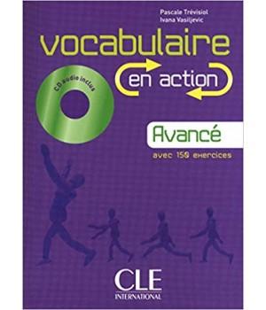 Підручник Vocabulaire EN ACTION Avancé (B2) Livre + CD audio + corriges