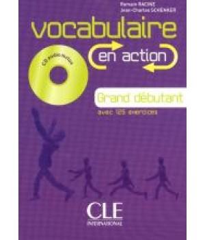 Підручник Vocabulaire EN ACTION Grand Débutant (A1.1/A1) Livre + CD audio + corriges
