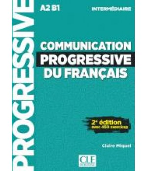 Підручник Communication progressive du français (2e Édition) Intermédiaire Livre + CD audio