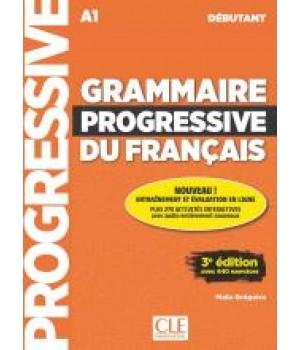 Граматика Grammaire Progressive du français Débutant (3e édition) Livre + CD audio