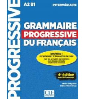 Граматика Grammaire Progressive du français Intermédiaire (4e édition) Livre + CD audio + livre-web