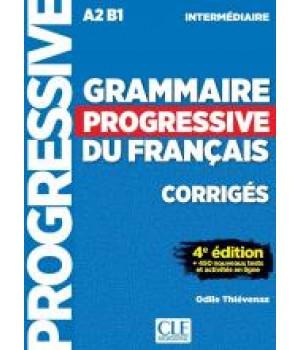 Відповіді Grammaire Progressive du français Intermédiaire (4e édition) Corrigés