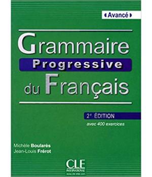 Граматика Grammaire Progressive du français Avancé (2e édition) Livre + CD audio