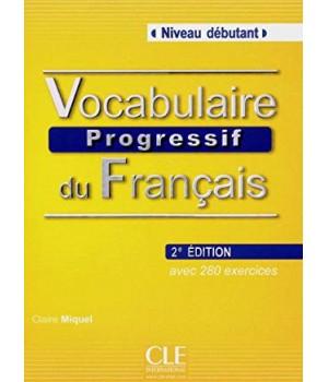 Підручник Vocabulaire progressif du français (2ème édition) Débutant Livre + CD audio