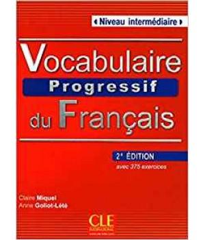 Підручник Vocabulaire progressif du français (2ème édition) Intermédiaire Livre + CD audio