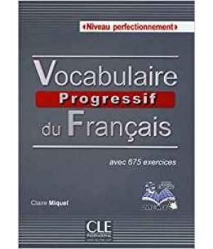 Підручник Vocabulaire progressif du français (2ème édition) Perfectionnement Livre + CD audio