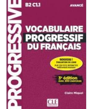 Підручник Vocabulaire progressif du français (3ème édition) Avancé Livre + CD audio